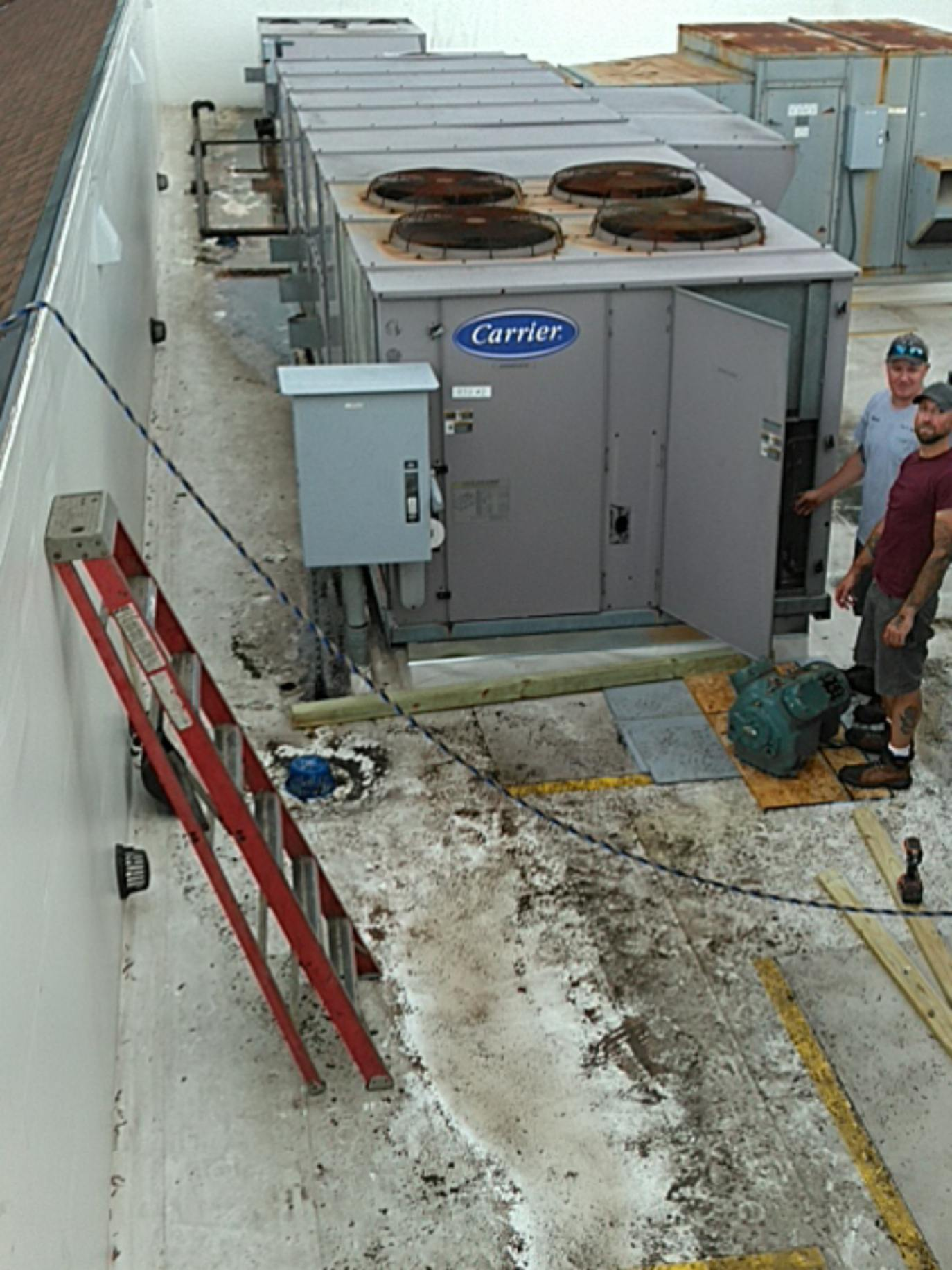 Repairing Large commercial HVAC units