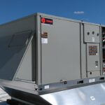 Another HVAC rooftop installation